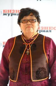 Намжилма Нанзатовна Бальжинимаева, автор сайта Мунгэн Тобшо 3D (электронный журнал на бурятском языке)